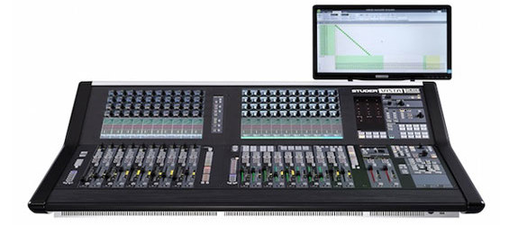 Mixer Digital Studer Vista 1 Edisi Hitam