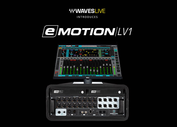 Mixer Digital Waves Audio eMotion LV1 Proton