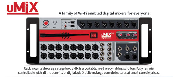 Solusi Mixer Digital SM Pro Audio uMix
