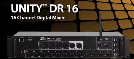 Mixer Digital Wireless Peavey Unity DR16