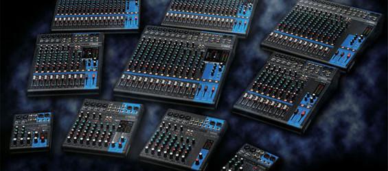 Mixer Audio Yamaha Seri MGXU