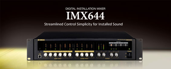 Audio Mixer Digital Yamaha IMX644