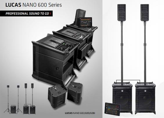 Paket Sound System Portabel HK Audio Lucas Nano 600