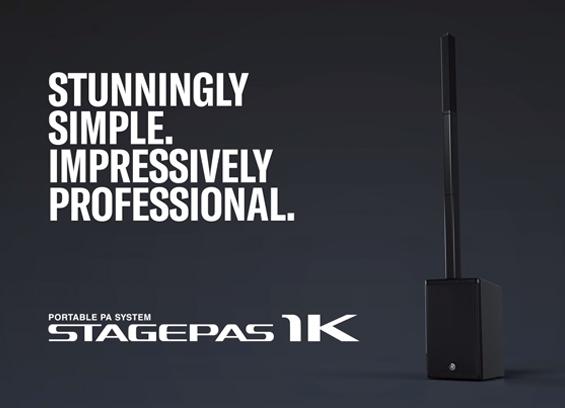 Paket Sound System Portabel Yamaha STAGEPAS 1K