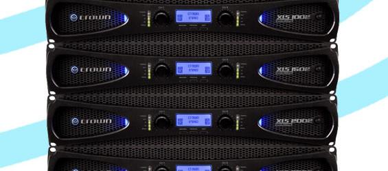 Audio Power Amplifier Crown XLS DriveCore 2