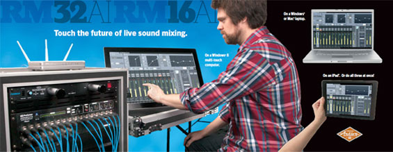 Mixer Digital Presonus StudioLive Seri RM