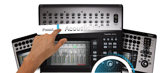 Mixer Digital QSC Audio TouchMix-30 Pro