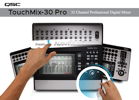 Mixer Digital QSC Audio TouchMix-30 Pro