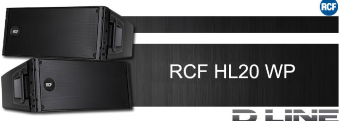 Speaker Line Array Pasif RCF HL20 WP