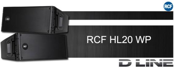 Speaker Line Array Pasif RCF HL20 WP