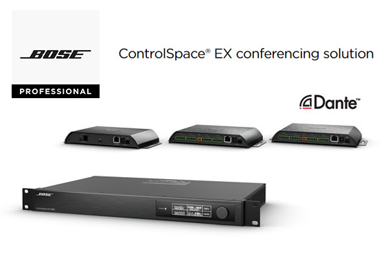 Sistem Mikrofon Konferensi Bose ControlSpace EX