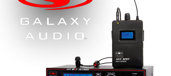 Sistem Personal Monitor Nirkabel Galaxy Audio AS-1400