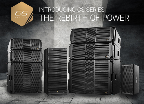 Sound System Adamson CS-Series