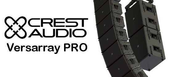 Sound System Line Array Aktif Crest Audio Versarray PRO
