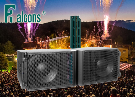 Sound System Line Array Alcons Audio LR28-110