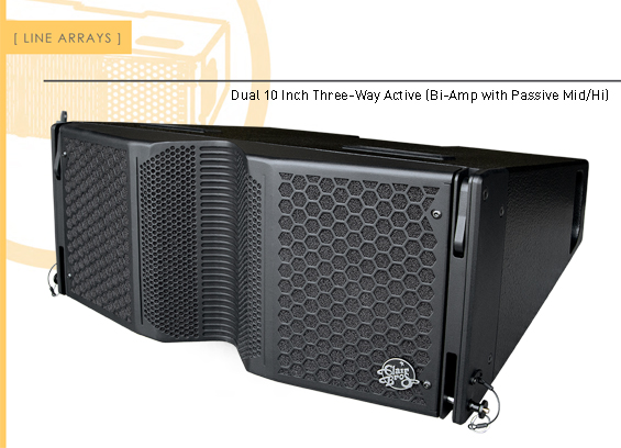 Sound System Line Array Clair Brothers C10-TrueFit