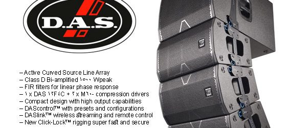 Sound System Line Array DAS Audio Vantec 20A