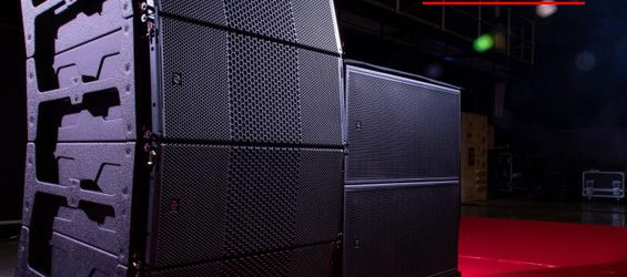 Sound System Line Array EM Acoustics HALO Arena