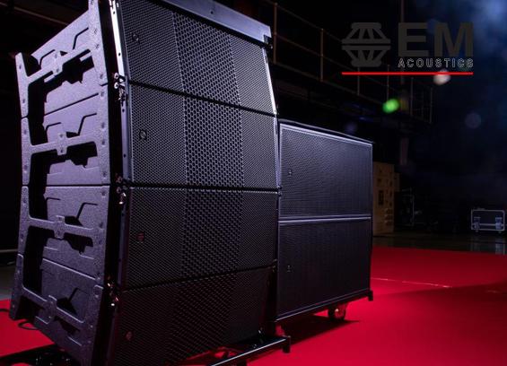 Sound System Line Array EM Acoustics HALO Arena