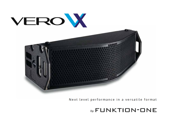 Sound System Line Array Funktion One Vero VX