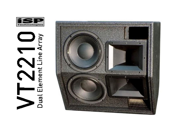 Sound System Line Array ISP Technologies VT2210