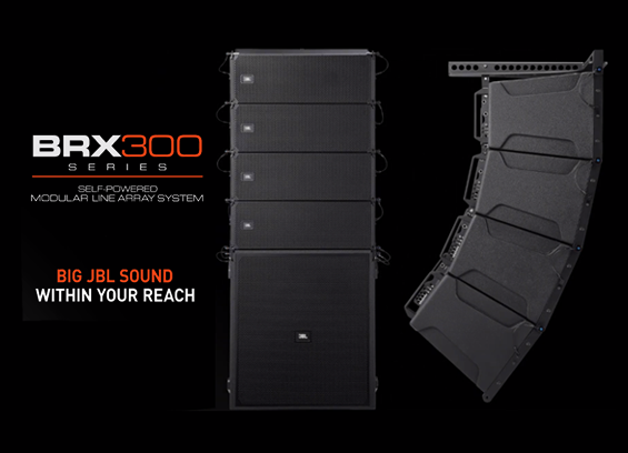 Sound System Line Array JBL BRX300 Series