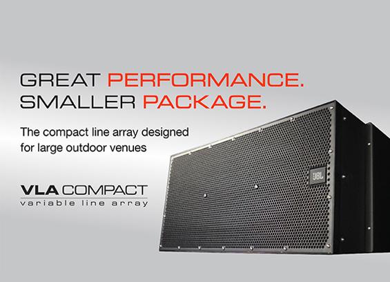 Sound System Line Array JBL VLA Compact
