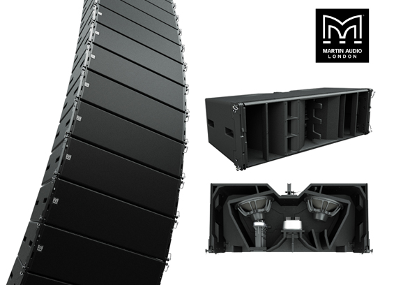 Sound System Line Array Martin Audio WPL Wavefront Precision Longbow