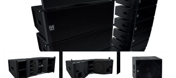 Sound System Line Array Martin Audio Wavefront Precision