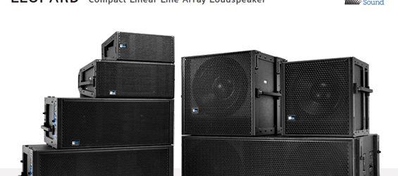 Sound System Line Array Meyer Sound LEOPARD-M80