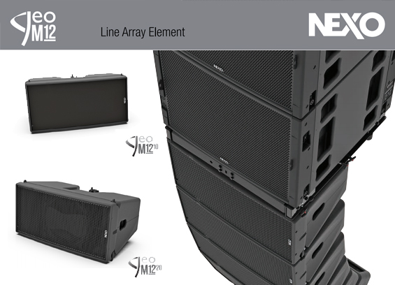 Sound System Line Array NEXO GEO M12