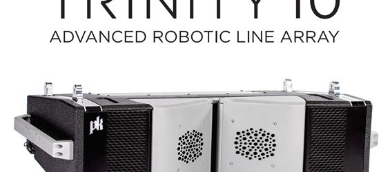 Sound System Line Array PK Sound Trinity 10