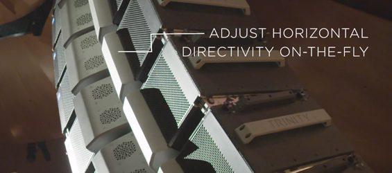 Sound System Line Array PK Sound Trinity Install
