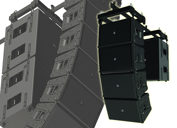Sound System Line Array Peavey Versarray