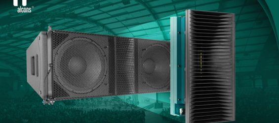 Sound System Line Array Pro Ribbon Alcons Audio LR24