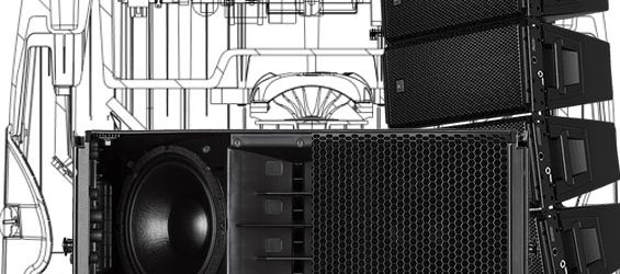 Sound System Line Array RCF HDL30-A