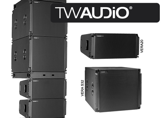 Sound System Line Array TW Audio VERA20