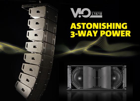 Sound System Line Array dBTechnologies VIO L1610