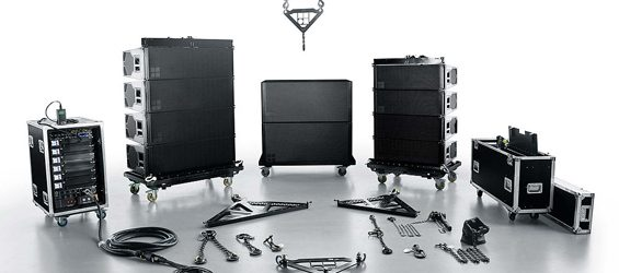 Sound System Line Array d&b Audiotechnik Seri KSL