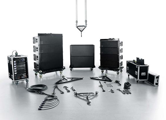 Sound System Line Array d&b Audiotechnik Seri KSL