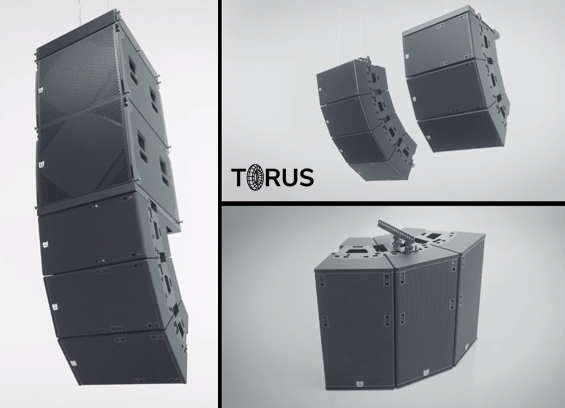 Sound System Linearray Martin Audio TORUS