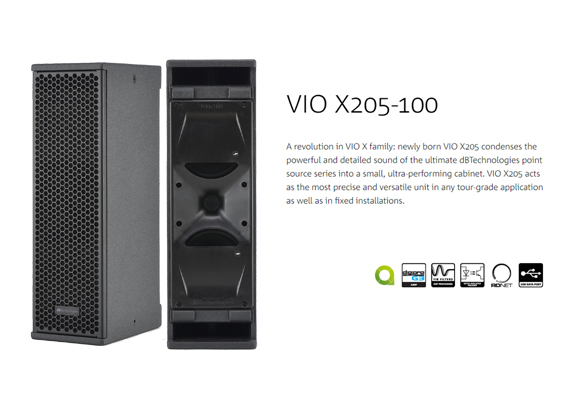 Sound System Point Source dBTechnologies VIO X205