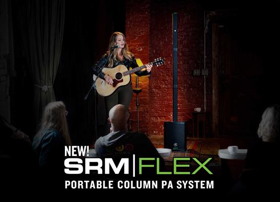 Sound System Portabel Mackie SRM-Flex