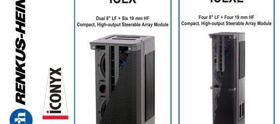 Sound System Steerable Array Aktif Renkus-Heinz IC-Live X