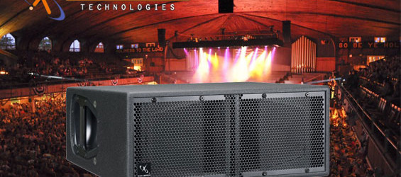 Sound System Lapangan Line Array WorxAudio Technologies TrueLine X1M-P