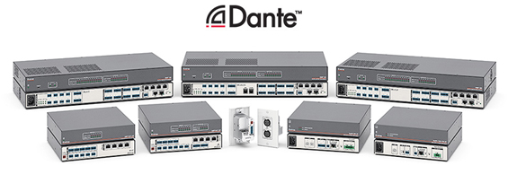 Soundcard Dante Extron AXI 22 AT D
