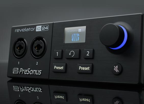 Soundcard Recording USB-C Presonus Revelator io24