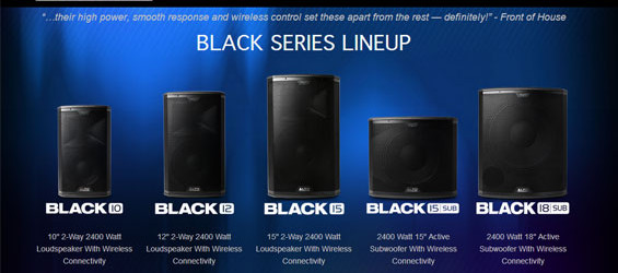 Sistem Speaker Aktif Alto Black Series