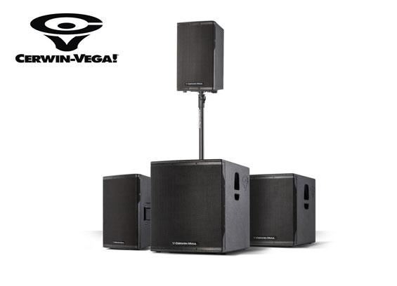 Speaker Aktif Cerwin Vega Seri CV