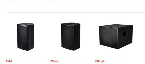 Speaker Aktif EM Acoustics Seri ESP